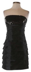 City Studios Sequin Embellished Strapless Dress
