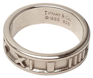 Tiffany & Co. Tiffany And Company Roman Numeral Ring From The 1995 Atlas Collection.