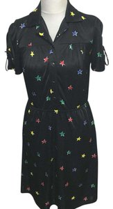 Betsey Johnson short dress Black, red, green on Tradesy