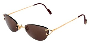 Cartier Cartier Rimless C Decor Sunglasses