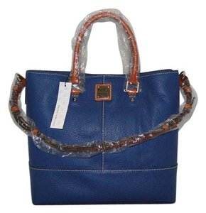 Dooney & Bourke Chelsea Shopper Tote in Jeans Blue