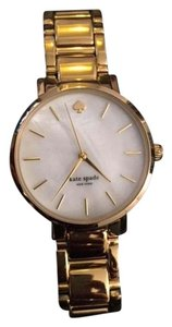 Kate Spade KATE SPADE Gramercy Mother of Pearl Dial Gold-plated Watch