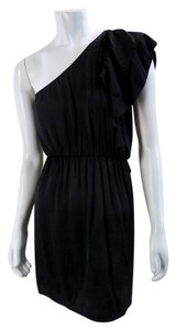 Everly short dress black Mini Cover Up Rayon Cocktail on Tradesy