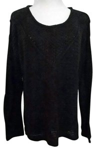 H&M Chunky Knit Oversized Hi Lo Sweater