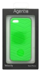 Agent 18 iPhone 5 Lime Green Flexible Velocity Athletic Silicone Case