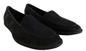 Salvatore Ferragamo Loafer Gancini Black Flats
