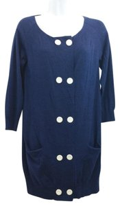 3.1 Phillip Lim short dress Navy Knit on Tradesy