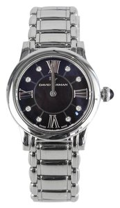 David Yurman Black Mother of Pearl Stainless Steel Watch