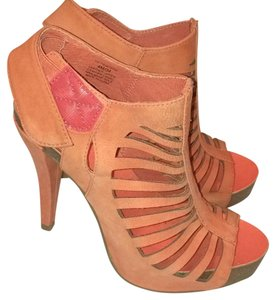 Vince Camuto Orange Mules