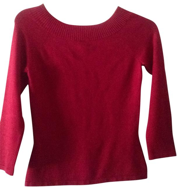 Preload https://item3.tradesy.com/images/inc-international-concepts-red-silk-blend-sweaterpullover-size-4-s-201212-0-0.jpg?width=400&height=650