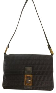 Fendi Vintage Leather Cross Body Shoulder Bag