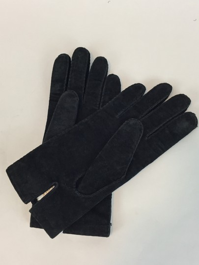 Nordstrom Suede Gloves w/Cotton Lining Med.