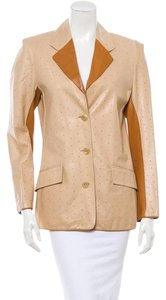 Givenchy Carmel and Beige Blazer