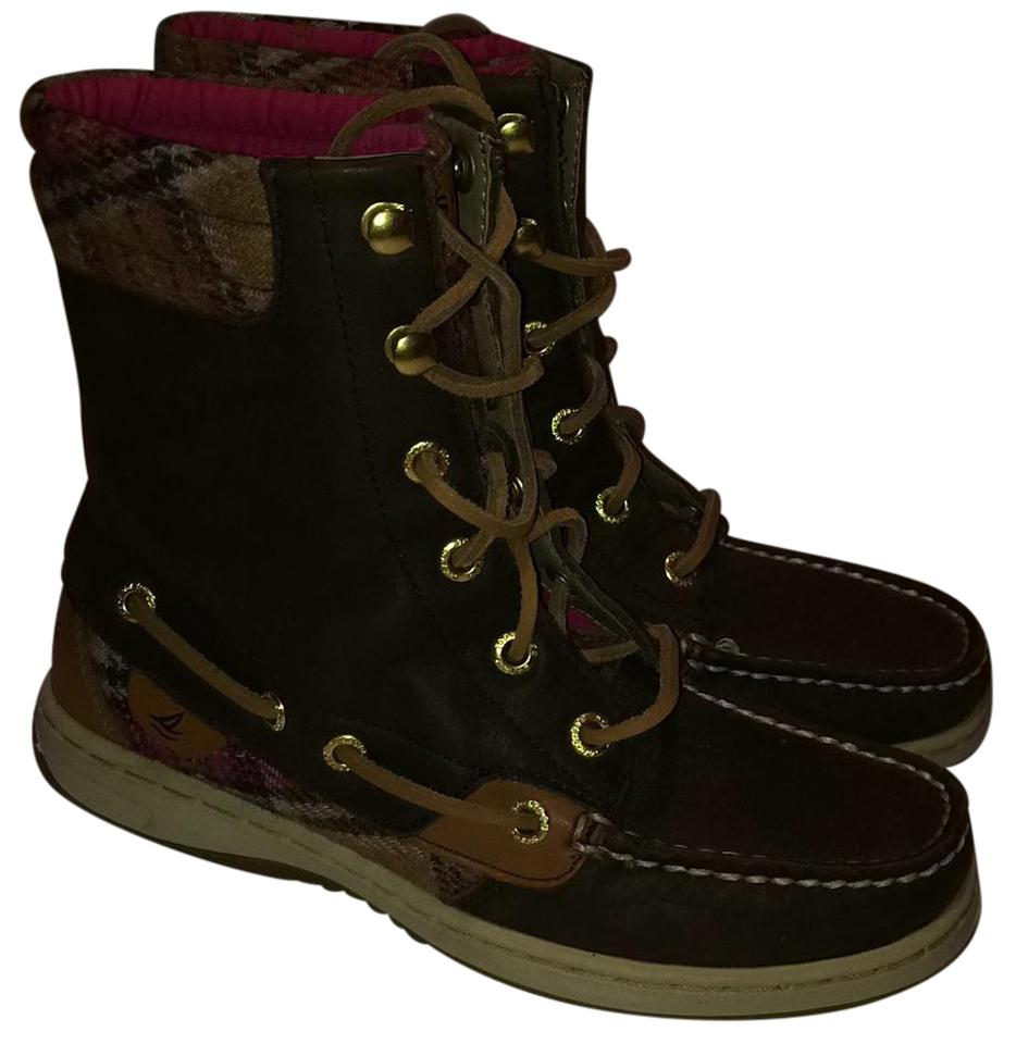 Women's Boots/Booties Sperry Brown and Pink Boots/Booties Women's Different styles and styles 40912b