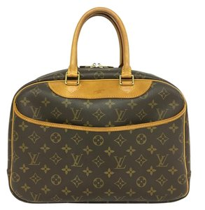 Louis Vuitton Lv Monoram Deauville Canvas Tote in brown