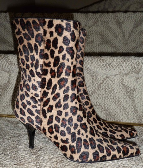 Casual Corner Leopard Boots