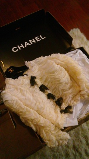 Chanel 06a Silk Jacket - 69% Off Retail 85%OFF