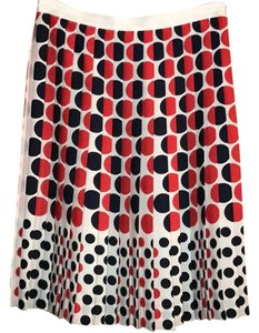 Brooks Brothers Skirt Navy and Red