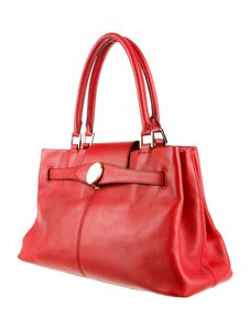 Mark Cross Satchel in Red