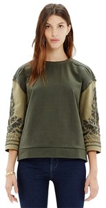 Madewell Embroidered Beading Sweater