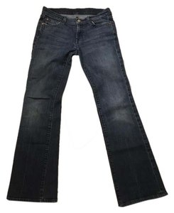 7 For All Mankind 28 Bootcut Sale Clearance Straight Leg Jeans