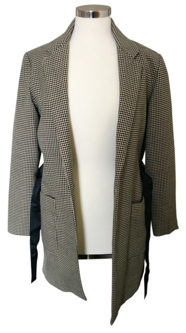 Scotch & Soda Houndstooth Classic French Chic Coat
