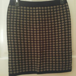 Club Monaco Skirt Navy blue/brown