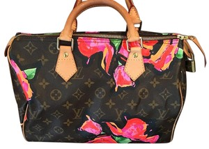 Louis Vuitton Limited Edition Satchel in Monogram