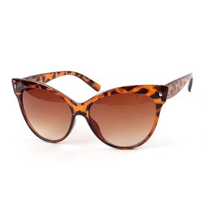 Grace Vintage Cat Eye Shades (leopard)