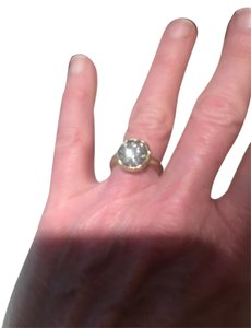 TAP by TODD POWNELL TAP BY TODD POWNELL 18K GOLD AND DIAMOND INVERTED CRATER RING