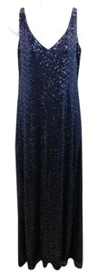 Ralph Lauren Navy Cocktail Gown Dress