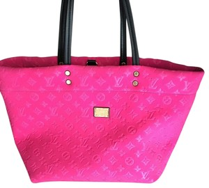 Louis Vuitton Monogram Scuba Tote in Pink