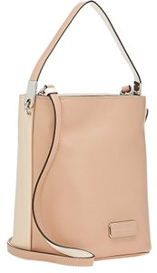 Marc by Marc Jacobs Ligero Colorblock Bucket Smooth Leather Beige/Lt Hobo Bag