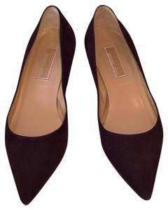 Michael Kors Chocolate Brown Kid Suede Pumps