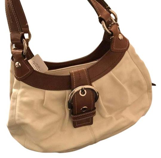 Preload https://img-static.tradesy.com/item/20122177/coach-white-and-brown-leather-satchel-0-2-540-540.jpg