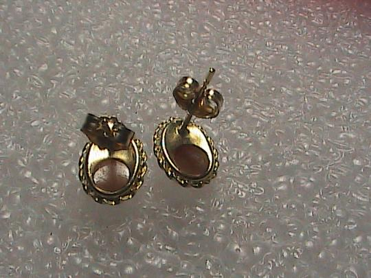 Other 14k Yellow Gold Cameo Stud earrings Image 4