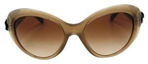 Chanel CHANEL 5318Q Camellia Cat eye Sunglasses Brown