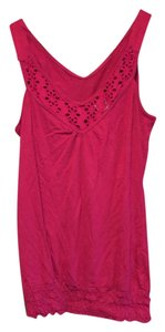 Maurices Top Maroon/Purple