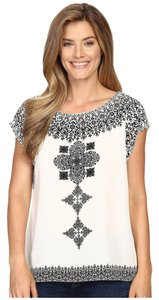 Vince Camuto Career Work Top Black & White
