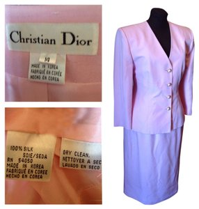 Christian Dior Soft Delicate Pink Classic Dior Suit