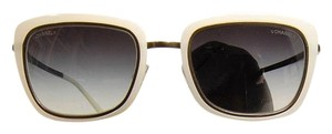 Chanel Square Grey and Ivory Chanel Sunglasses 4203 c.459/S6 52