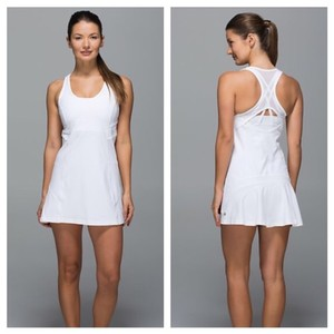 Lululemon NWT Lululemon Ace Dress Tennis Dress White