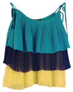 Patterson J. Kincaid Top Navy, Turquoise, Lime