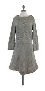 Marc by Marc Jacobs Grey Wool Cashmere Dress Sweater