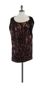 Robert Rodriguez Black Bronze Sequin Top