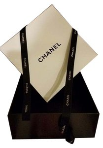Chanel FINAL SALE!! Large Chanel Cardboard Gift Box and Ribbon