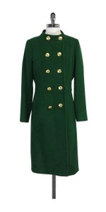 MILLY Green Wool Coat