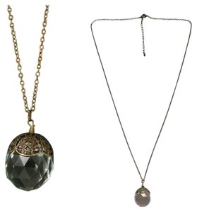 Free People Fortune Teller Crystal Ball Necklace