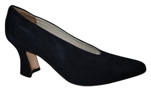 Via Spiga Leather Suede navy Pumps