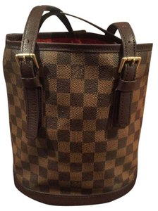 Louis Vuitton Damier Bucket Diaper Shoulder Bag